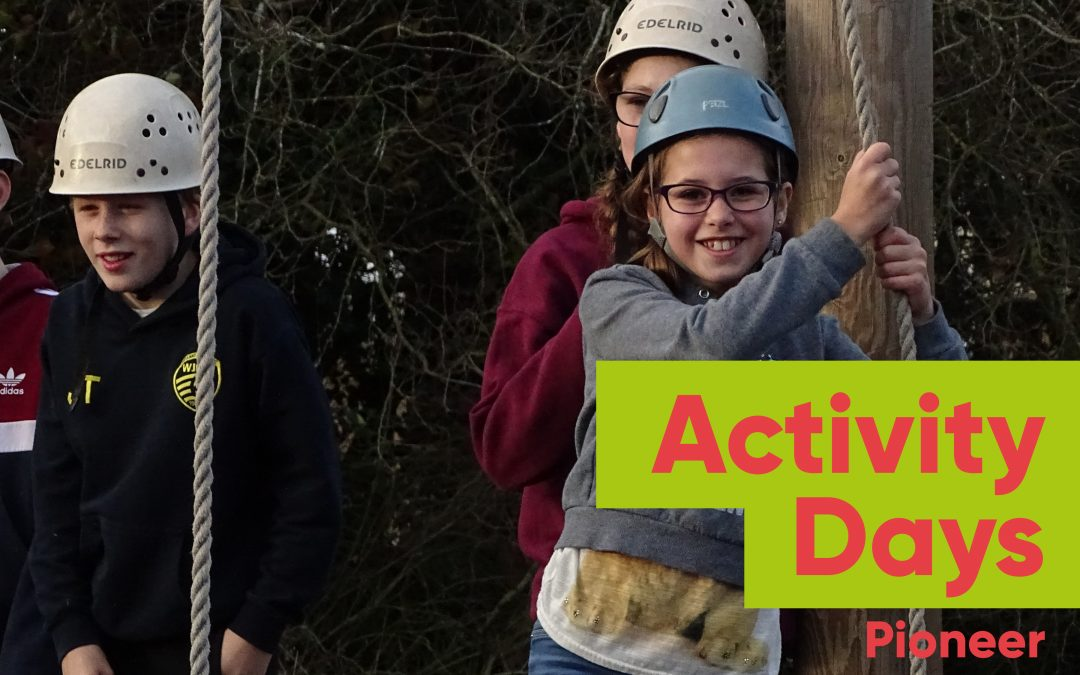 Activity Days at Pioneer