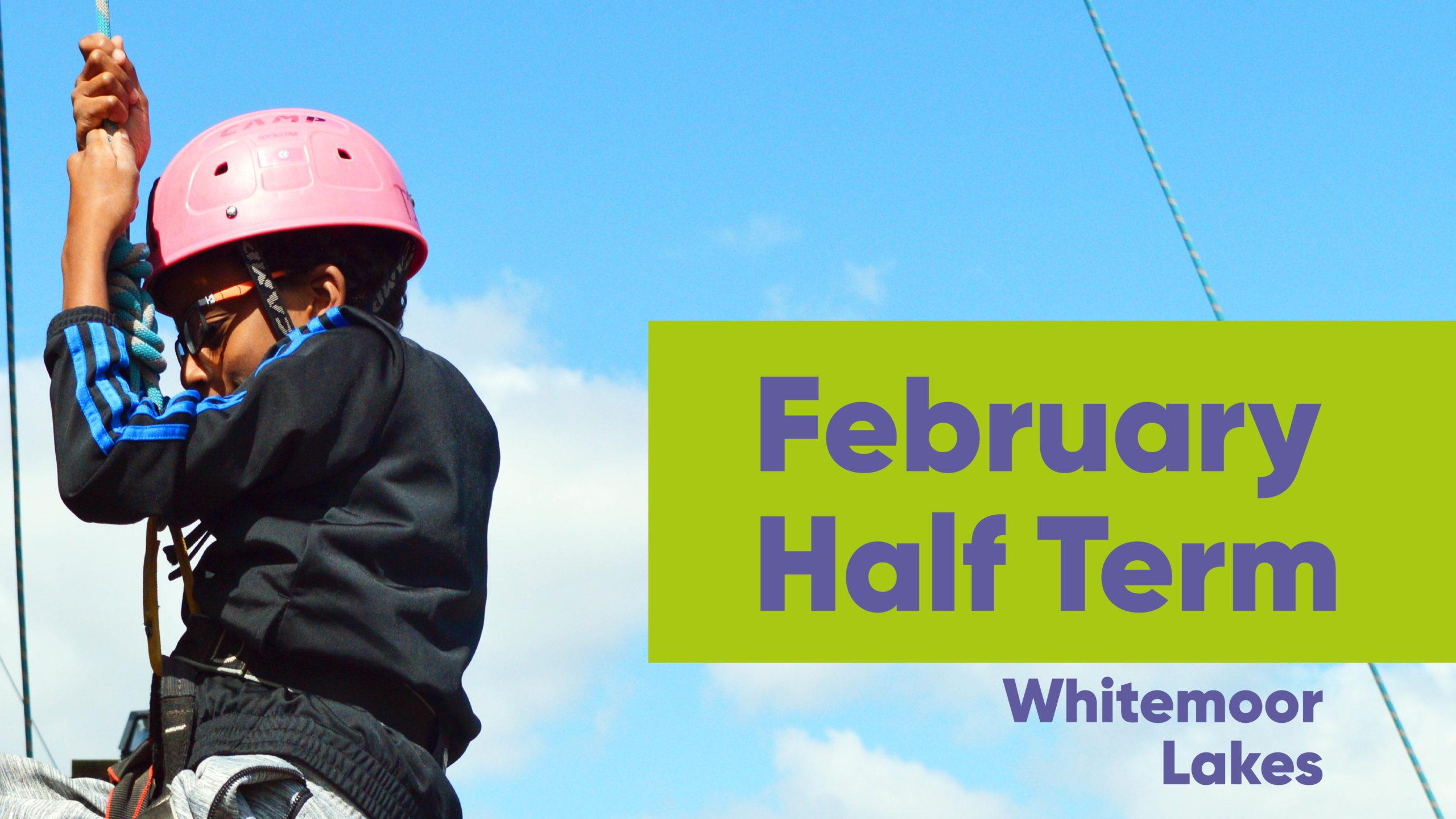 February Half Term - Youth Climbing a Wall