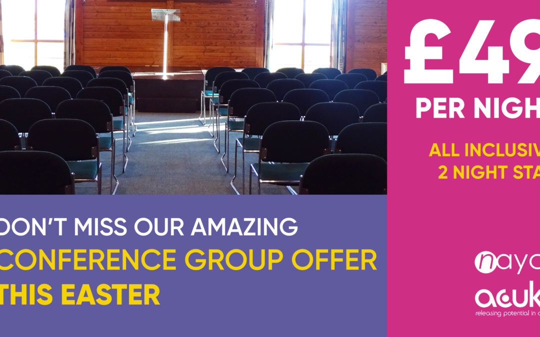 Easter Conference Offer